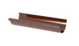 Giza желоб водосточный 120 ММ, цвет коричневый