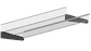 Стационарная корзина для гардеробной системы, фото 3