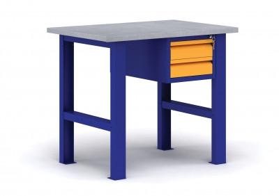 ВП - Э металлический верстак с подвесным ящиком