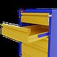 Т - 2 тумба с ящиками для металлического верстака, фото 2