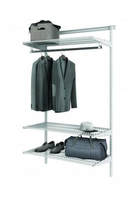 Базовый комплект гардеробной системы Титан - GS - S