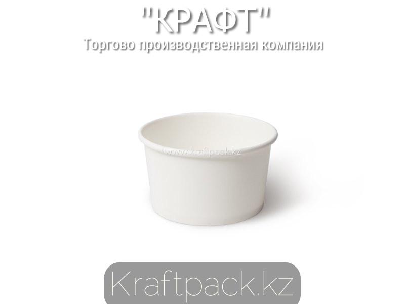 Стаканчик, креманка для мороженого 160-200мл, Белый