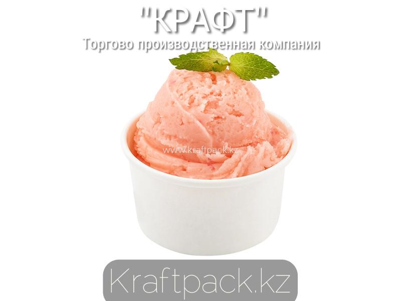 Стаканчик, креманка для мороженого 120-140мл, Белый