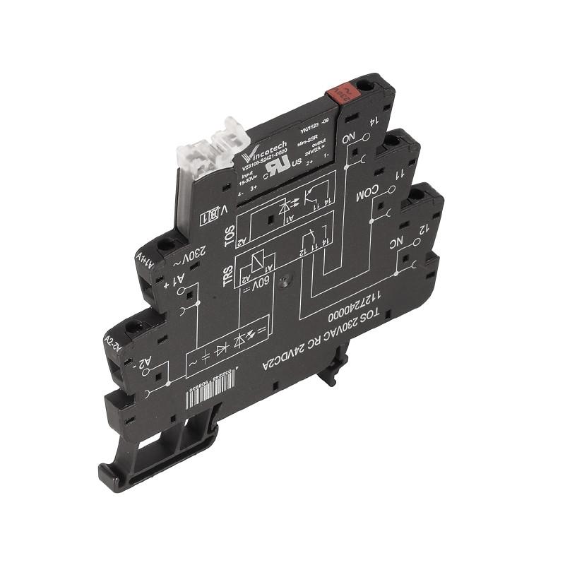Твердотельные реле TOS 120VAC RC 24VDC2A