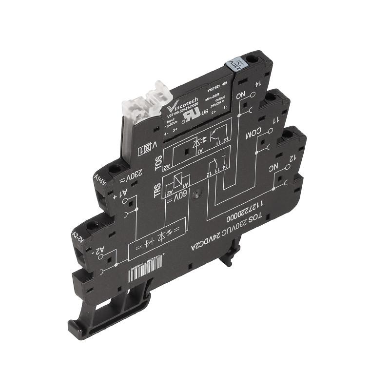 Твердотельные реле TOS 24-230VUC 24VDC2A