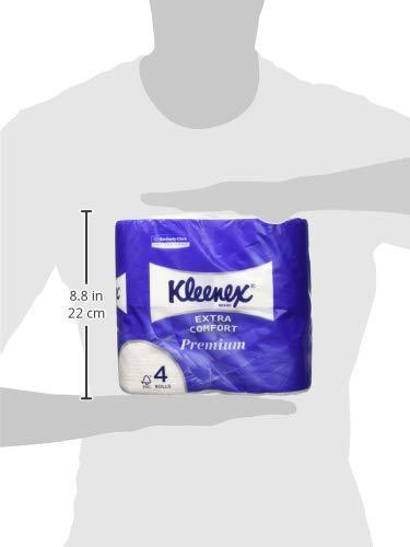 мягкая туалетная бумага клинекс ультра комфорт