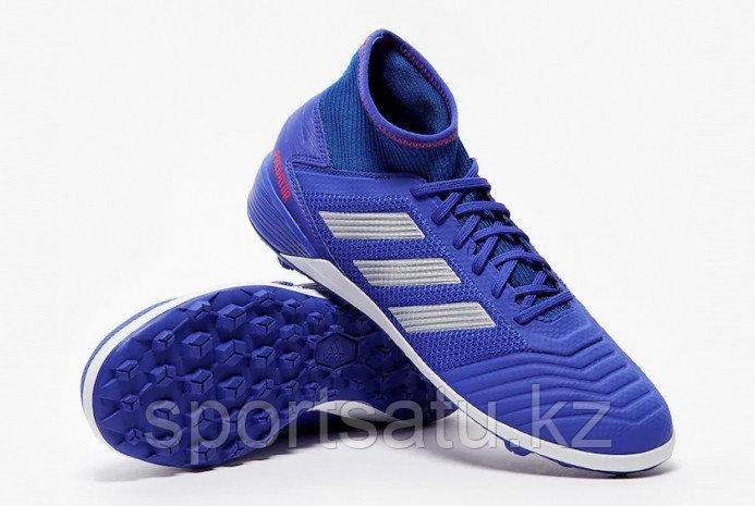 Футбольные сороконожки Adidas Predator 19.3 BLUE