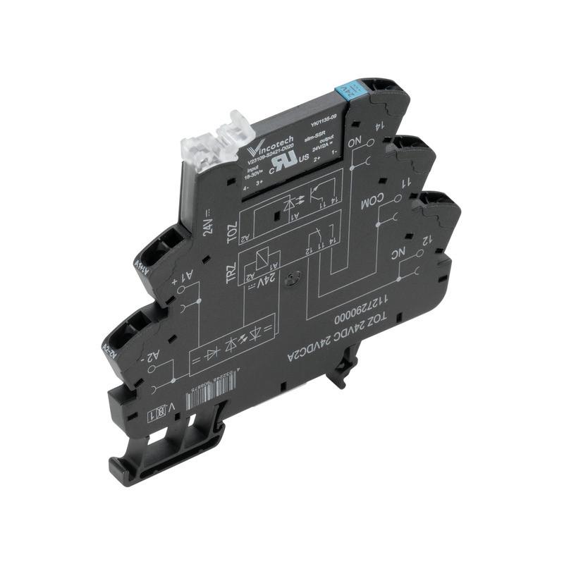 Твердотельные реле TOZ 24VDC 24VDC2A