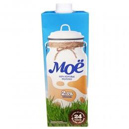 Молоко «Моё» 2,5% 1 л
