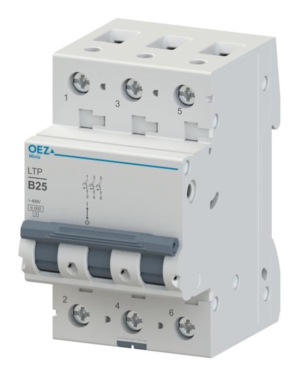 Автоматический выключатель LTP-6B-3-LTP-63B-3 OEZ:42240-OEZ:42249