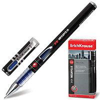"""Ручка гелевая ERICH KRAUSE """"Megapolis Gel"""", корпус с печатью, узел 0,5 мм, линия 0,4 мм, синяя, 92"""