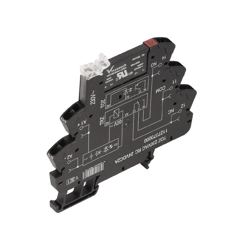 Твердотельные реле TOZ 230VAC RC 24VDC2A