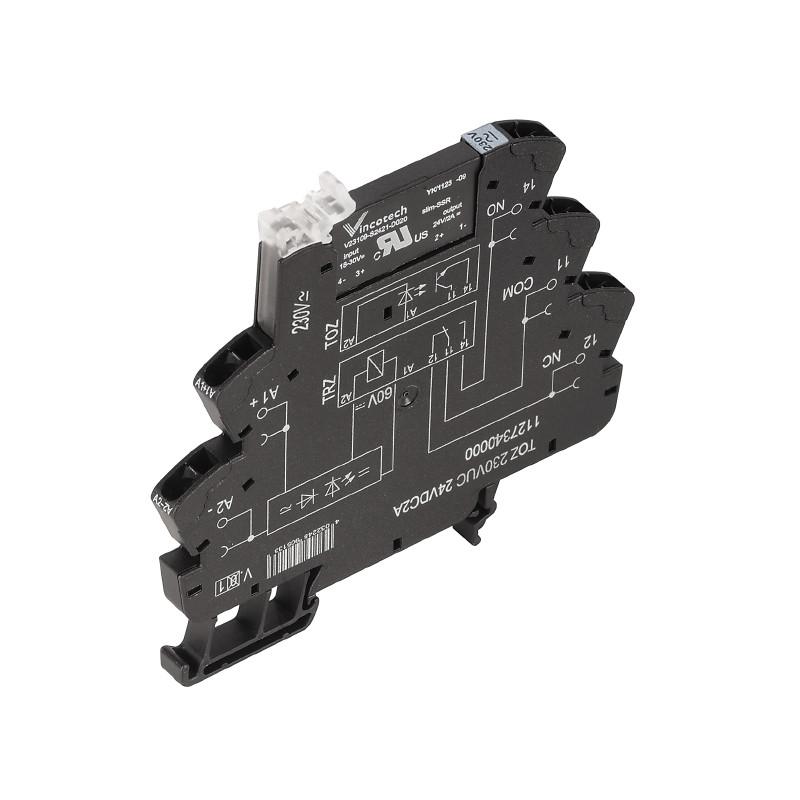 Твердотельные реле TOZ 24-230VUC 24VDC2A