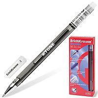 """Ручка гелевая ERICH KRAUSE """"G-Tone"""", корпус тонированный черный, узел 0,5 мм, линия 0,4 мм, черная, 17810"""