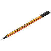 """Ручка капиллярная Berlingo """"Rapido"""" черная, 0,4мм, трехгранная CK_40100"""