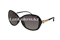 Поляризационные солнцезащитные очки Aolisha, черные Polaroid, фото 1