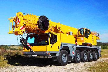 Автокран с грузоподъемностью 50 тонн