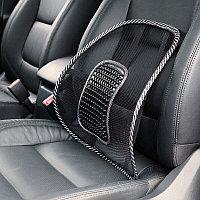 Массажер и поясничный упор на кресло или сиденье в авто