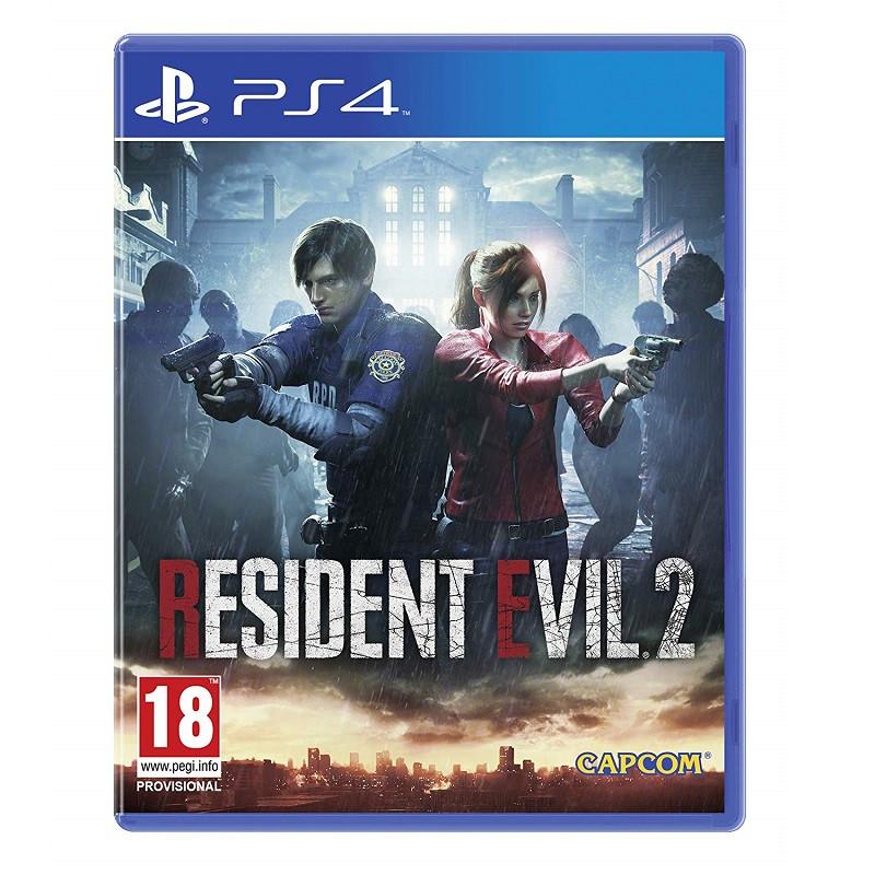 Видеоигра Resident Evil 2 PS4