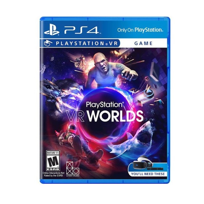 Видеоигра PlayStation VR Worlds PS4