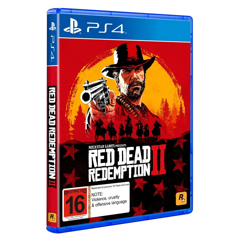 Видеоигра Red Dead Redemption 2 PS4