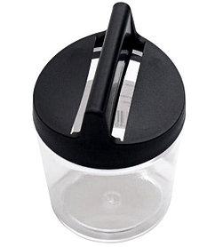 Подставка для скрепок магнитная черная. ПС02.