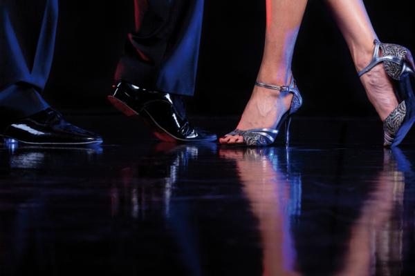 Бальная мужская обувь