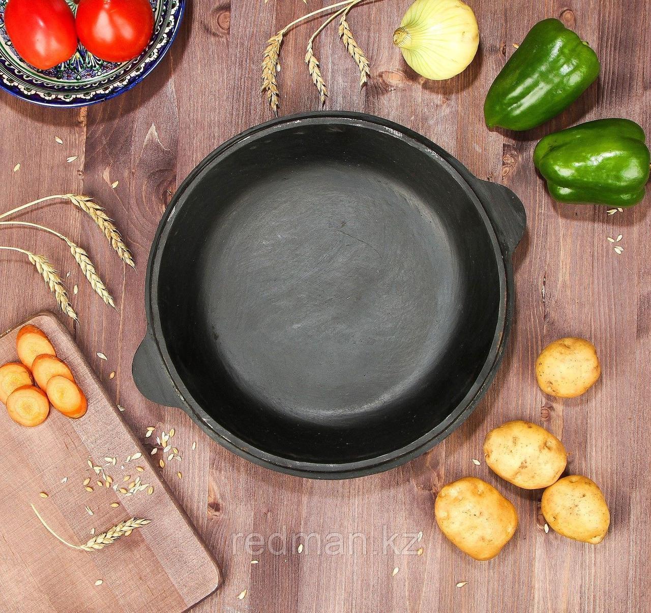 Сковорода-крышка чугунная 6 л