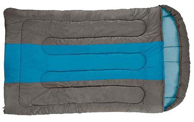Спальный мешок кемпинговый Coleman Hudson Double, Форм-фактор: Прямоугольный, Мест: 2, t°(комфорта): +7°С-+2°С