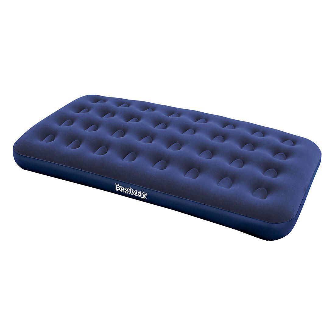 Матраc надувной Bestway 67002, Форм-фактор: Прямоугольный, Мест: 2, Материал: Поливинилхлорид, Цвет: Синий