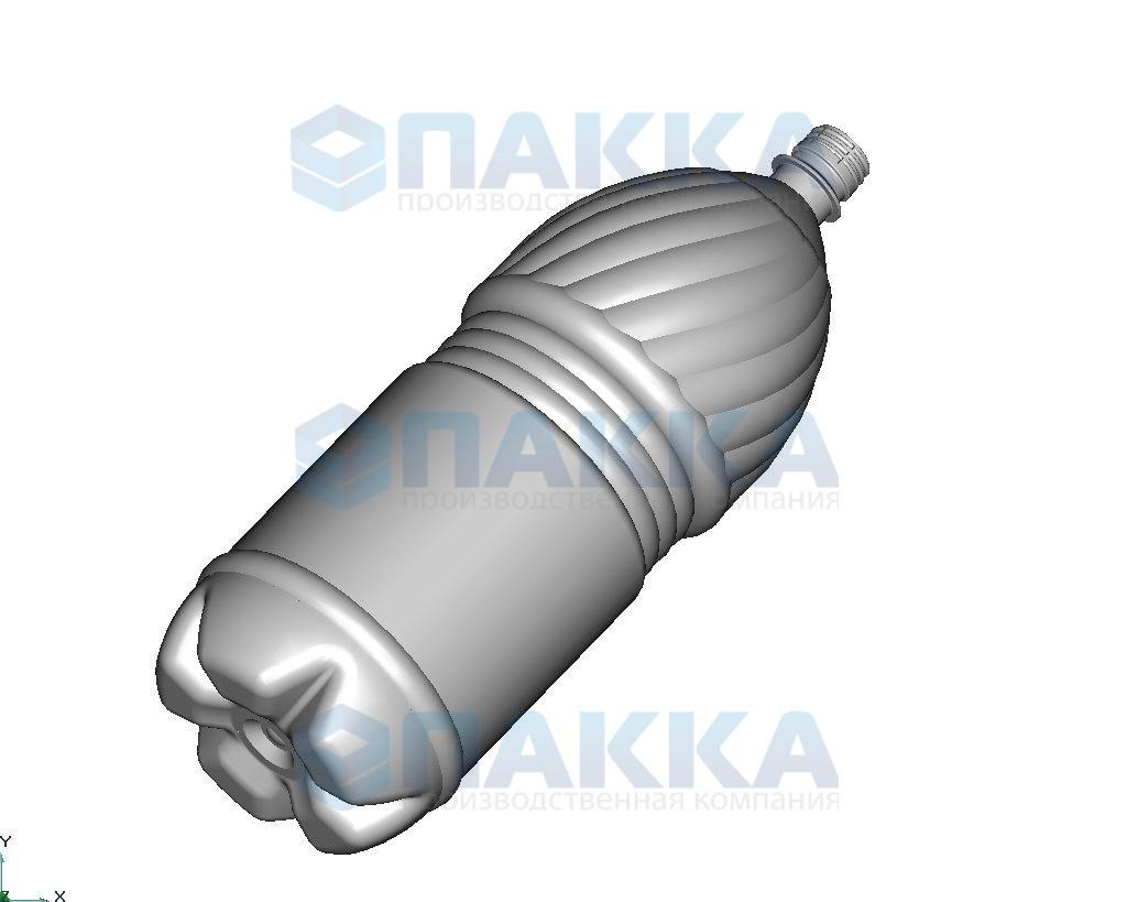 Пресс-формы объемом 3 литра для ПЭТ-тары