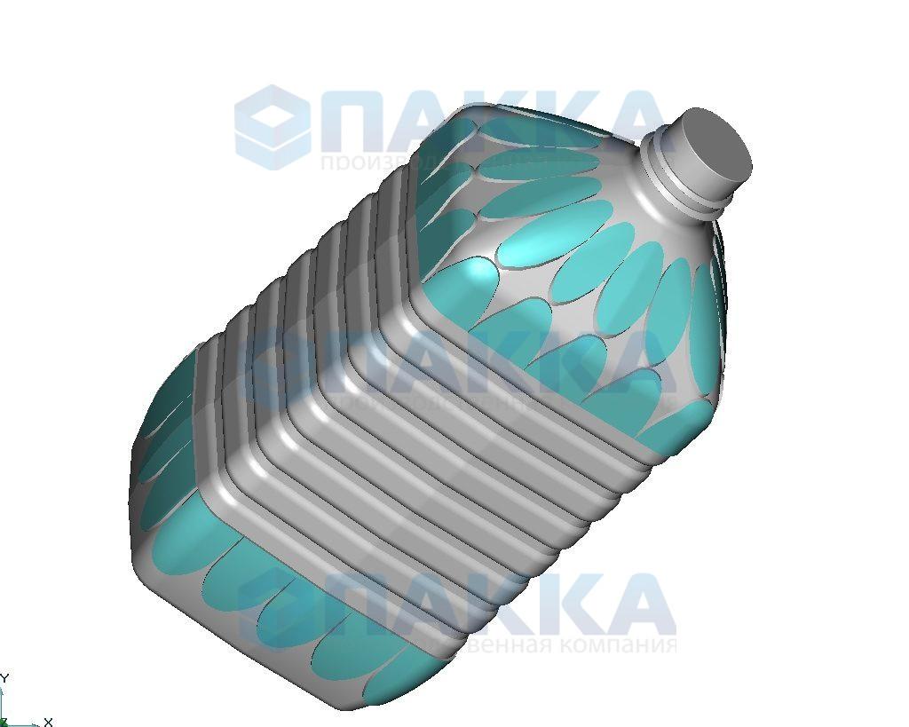 Пресс-формы объемом 5 литров для ПЭТ-тары