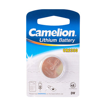 Батарейка Camelion CR2330-BP1 3 В, Упакова: Блистер 1 шт., Тип батареи: Литий-ионный