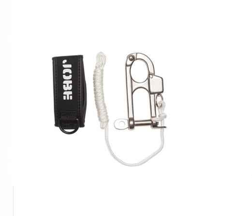 Система сброса фала для буксировочных кругов Jobe Quick Release Wrist Seal, Цвет: Чёрно-белый, (210006005)