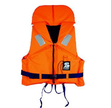 Спасательный жилет Secumar Bravo, 10-15 кг, Класс: EN395, Плавучесть: 100N, Цвет: Оранжево-синий, (13273)