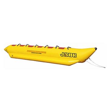 Буксируемый водный аттракцион банан Jobe Aqua Rider 6P, Кол-во мест: 6, 6 мягких ручек, Безопасность на воде: