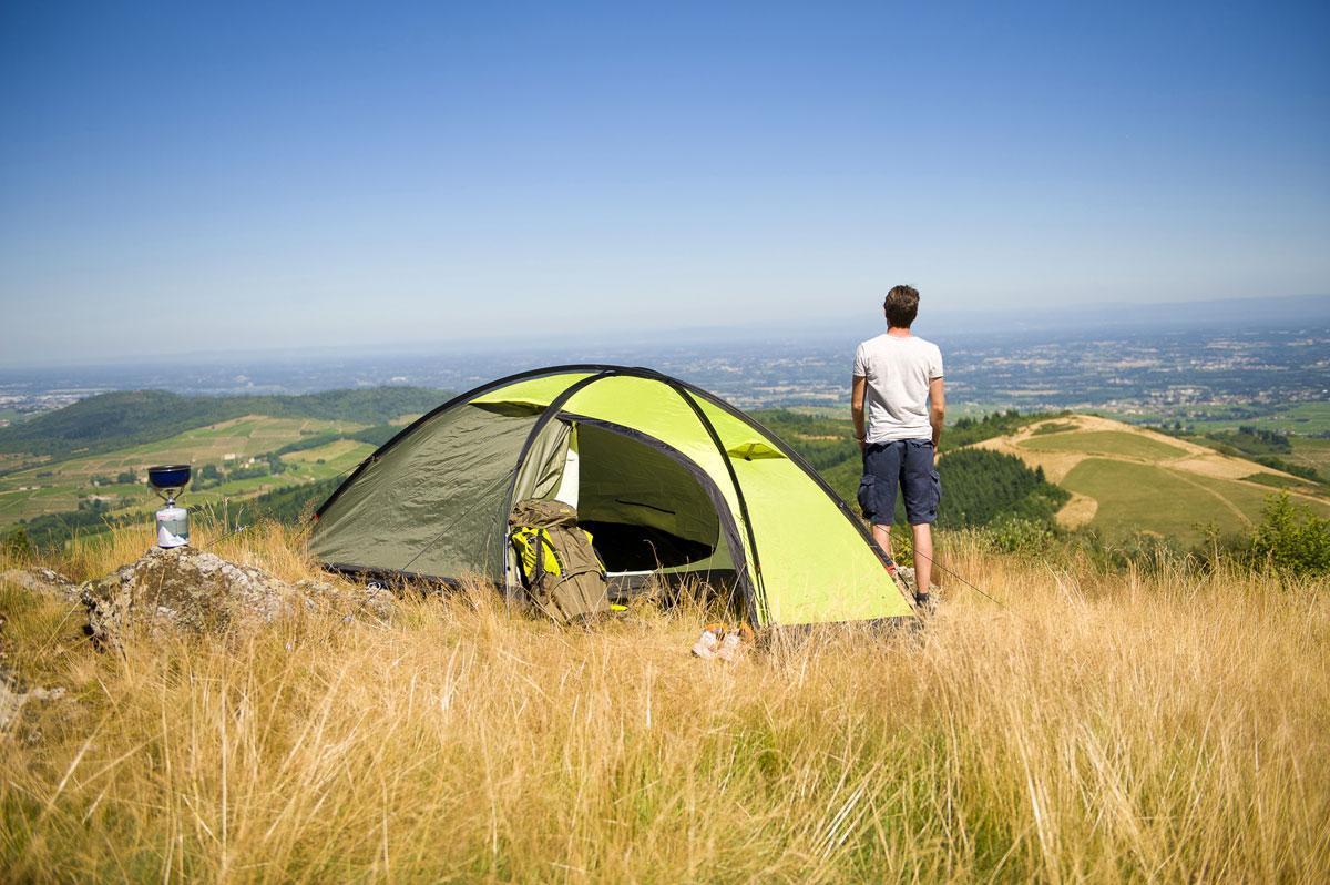 Палатка трекинговая (равнинная) Coleman Tatra 2, Кол-во человек: 2, Входов/комнат: 2/1, Тамбуров: 1, Внутрення