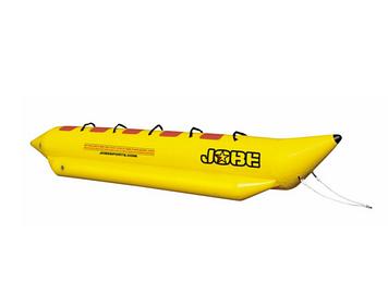 Буксируемый водный аттракцион банан Jobe Aqua Rider 4P, Кол-во мест: 4, 4 мягкие ручки, Безопасность на воде: