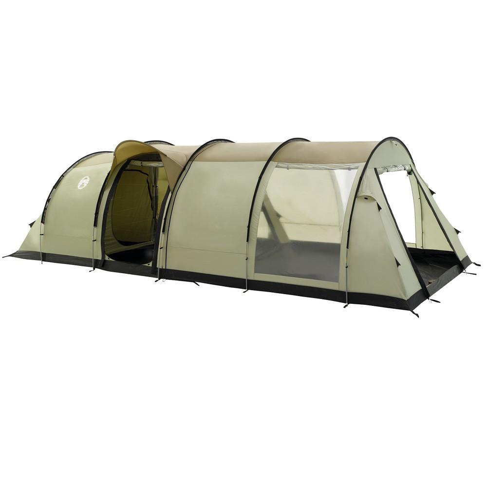 Палатка кемпинговая Coleman Fremont 4, Кол-во человек: 4, Входов/комнат: 2/2, Тамбуров: 1, Внутренняя палатка: