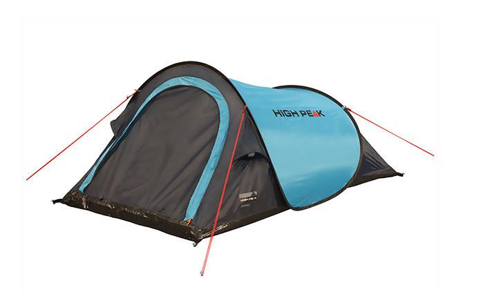 Палатка кемпинговая High Peak Campo 2, Кол-во человек: 2, Входов/комнат: 1/1, Тамбуров: Нет, Внутренняя палатк