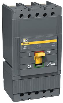 Автоматический выключатель установочный IEK ВА88-37 3P 400А, 380/660 В, Кол-во полюсов: 3, Предел отключения: