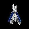 Мультитул брелок Leatherman Squirt PS4, Кол-во функций: 9 в 1, Цвет: Синий, (PS4), фото 2