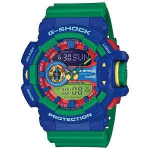 Часы электронные наручные мужские Casio G-SHOCK GA-400-2AER, Механизм: Кварц, Браслет: Ремешок из полимерного