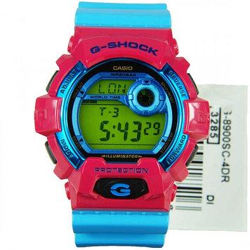 Часы электронные наручные мужские Casio G-SHOCK G-8900SC-4DR, Механизм: Кварц, Браслет: Ремешок из полимерного
