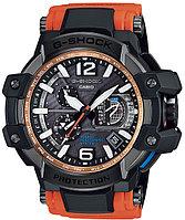 Часы электронные наручные мужские Casio G-SHOCK GPW-1000-4A, Механизм: Кварц, Браслет: Из карбона и полимерног
