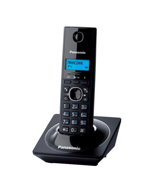 Радиотелефон DECT Panasonic KX-TG1711 CAB, 50 контактов, АОН: Есть, Ресурс: 550 мАч, время зарядки - до 6 ч, Ц