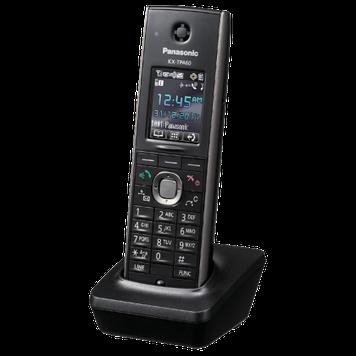 Микросотовый телефон беспроводной Panasonic KX-TPA60 RUB, На 500 номеров