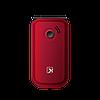 Телефон сотовый бабушкофон Texet TM-B216, Кол-во слотов SIM: 2, Цвет: Красный, фото 2