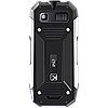 Телефон сотовый кнопочный Texet TM-518R, Класс защиты IPX: IP67, Кол-во слотов SIM: 2, Цвет: Чёрный, фото 3