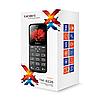Телефон сотовый бабушкофон Texet TM-B226, Кол-во слотов SIM: 2, Цвет: Чёрно-красный, фото 2